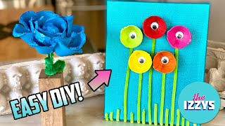Easy Egg Carton Recycle Project!