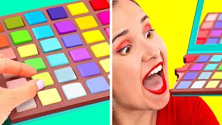 SNEAK CANDY INTO A CLUB #2    Weird Ways to Sneak Food! Secret Snacks and Candies by 123 GO! SCHOOL