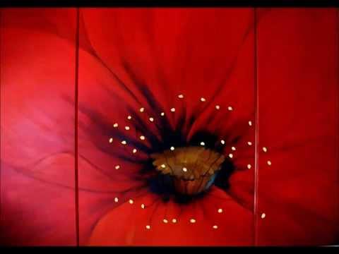 Blumenbilder in Acryl   ,  Acrylmalerei ,   Ramlingen Ehlershausen