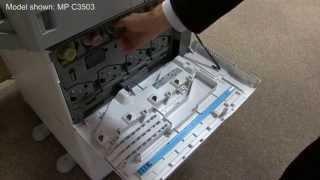 Training | Replacing toner on a Ricoh Colour MFP (MP C2003 - MP C6003) | Ricoh Wiki