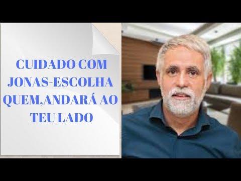 Cuidado com JONAS -  Pastor Claudio Duarte , fala como escolher quem andará ao seu lado