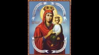 Акафист Пресвятой Богородице перед иконой Споручница грешных