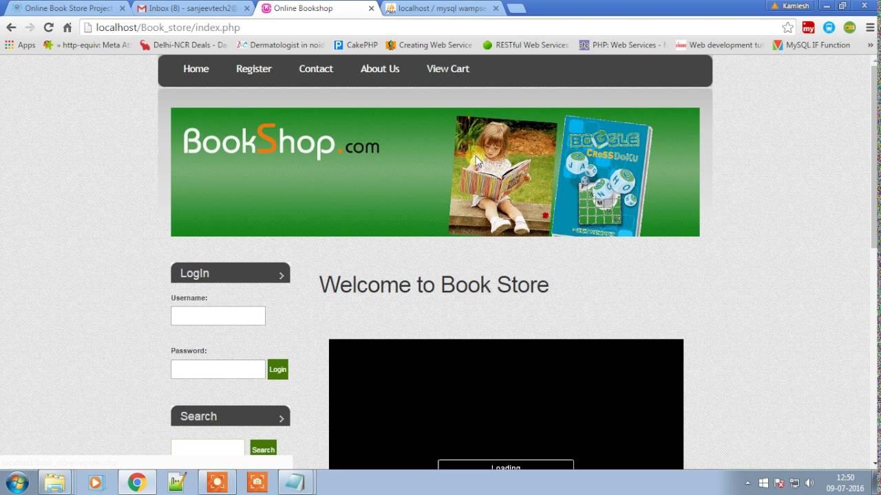 Code source Projet de librairie en ligne en PHP