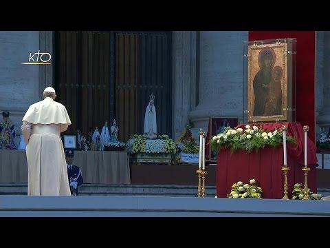 Veillée mariale avec le Pape François