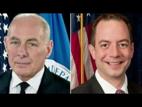 WH hopes to return stability Kelly as chief of staff