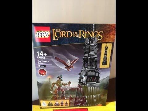 Vidéo LEGO Le Seigneur des Anneaux 10237 : La tour d'Orthanc