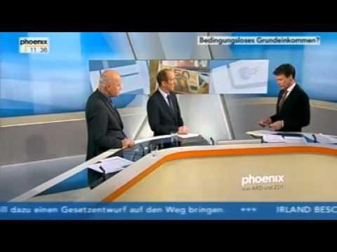 Phönix   BGE Grundeinkommen   Götz Werner