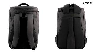"""Pюкзак деловой Kite&More K18-1020L-2 от компании Интернет-магазин """"Радуга"""" - школьные рюкзаки, канцтовары, творчество - видео"""