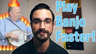 Play Faster! Free Banjo Lesson