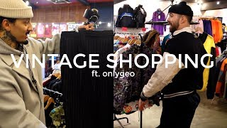 TRIP TO THE THRIFT   Vintage Shopping Ft. OnlyGeo   Mens Fashion   Daniel Simmons