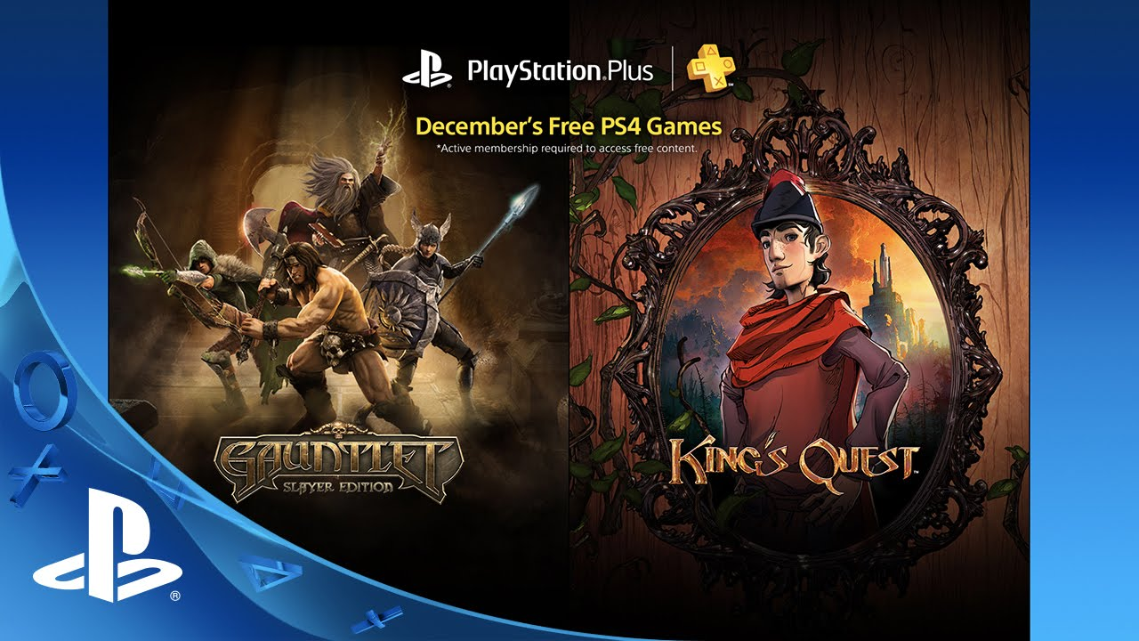 PS Plus: Free Games for December, 2015
