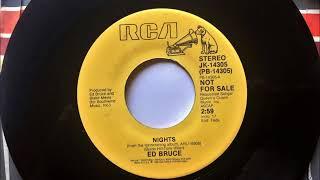 Nights , Ed Bruce , 1986