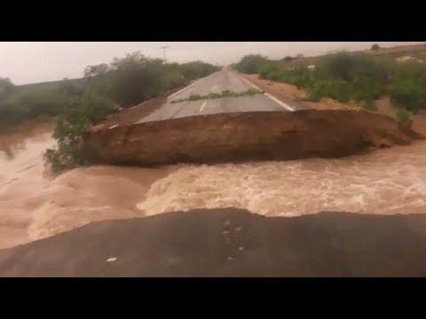 Fortes trovoadas isolaram comunidades em Abaré-BA.