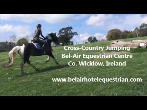 Cross Country Jumping at Bel-Air Equestrian Centre