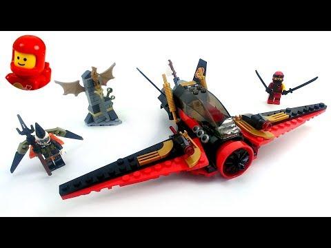 Vidéo LEGO Ninjago 70650 : La poursuite dans les airs