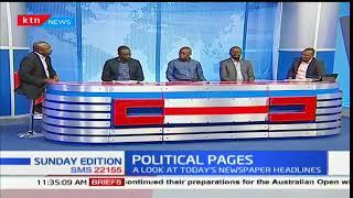 Kalonzo: Why I want to meet Uhuru- Sunday Edition