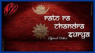 1974 AD - Rato Ra Chandra Surya (Lyrics)