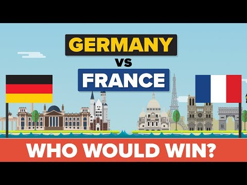 Germany vs France - Who Would Win - Army / Military Comparison