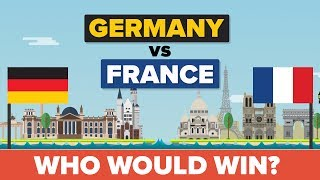 Germany vs France 2017 - Who Would Win - Army / Military Comparison