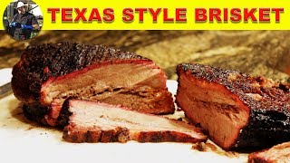 Texas Style Brisket On The Weber Kettle
