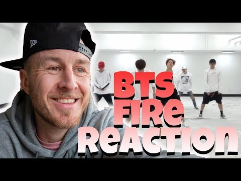 BTS (방탄소년단) '불타오르네 (FIRE)' Dance Practice | DANCER REACTION | Chris Parry
