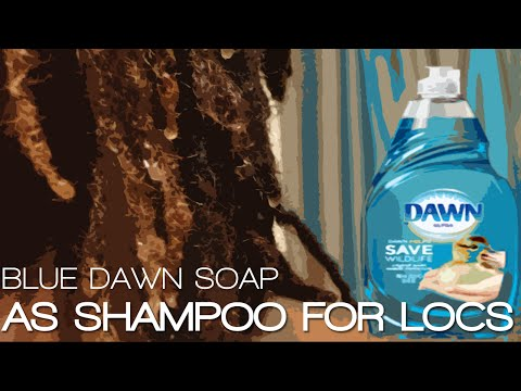 Blue Dawn Dish Soap as Shampoo | Product Review