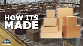 Corrugated Boxes: How It's Made Step By Step Process | Georgia-Pacific