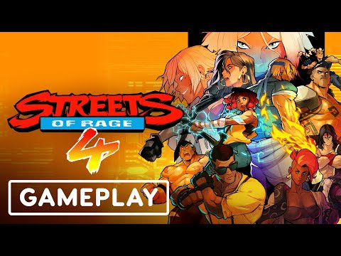 Mr. X Nightmare DLC Gameplay | Summer of Gaming 2021 de Streets of Rage 4