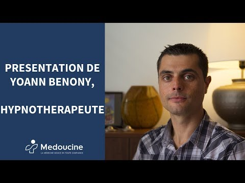 Présentation de Yoann Bénony