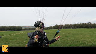 Paragliding Tips: How to reverse launch a paraglider