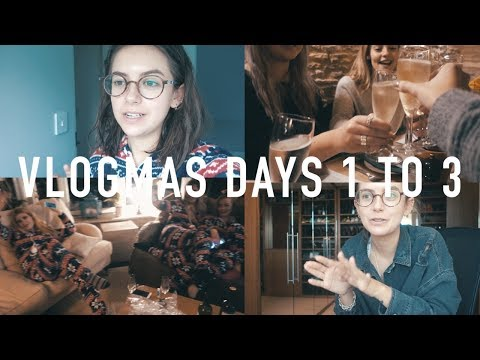 VLOGMAS 2017 DAYS 1 TO 3: Tattoo Reveal + Weekend in the Country | sunbeamsjess