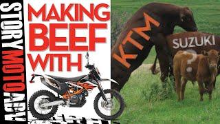 KTM v JAPANESE Bikes 2018 | Making Beef - LC SERIES MOTORS
