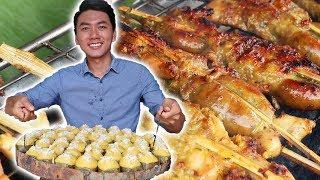 Món ăn đường phố NGON BỔ RẺ quanh Rừng Tràm Trà Sư  Du Lịch An Giang