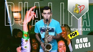 New Rules   Dua Lipa (by SaxPinelin) Sax Cover