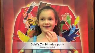Sahil's 7th Birthday Party