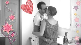 *VLOG 30* ~ Nouvelles ... Ménage , Chéri M'aide à Gogo ... De L'amour A Volonté !
