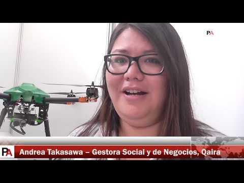 VIII TICAR 2017: Qaira, startup de drones que limpian el aire