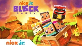 Block Party: Golden Cube Adventure w/ PAW Patrol, Shimmer & Shine, & More!   Nick Jr.