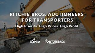 Ritchie Bros. Auctions: Big Profit for Heavy Equipment Haulers Through uShip