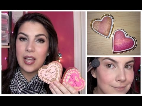 Too Faced Sweethearts Perfect Flush Blush Review