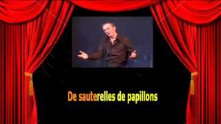 Karaoké Yves Montand  -  A bicyclette