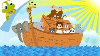 Who built the Ark Nursery Rhyme for Kids