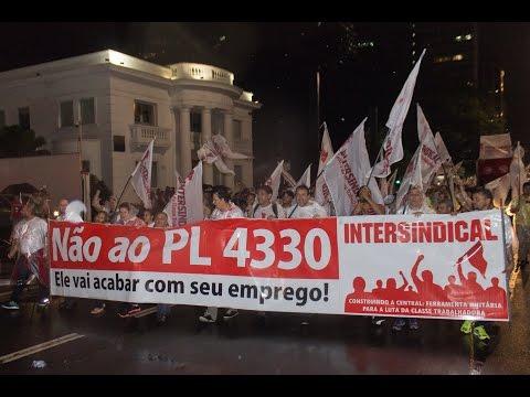 Dia Nacional de Paralisações contra o PL 4330