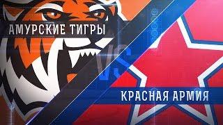 Прямая трансляция матча. «Амурские Тигры» - «Красная Армия». (16.2.2018)