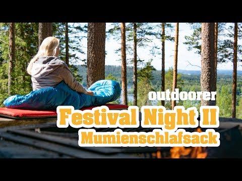 Mumienschlafsack Vorteile – der outdoorer Festival Night II