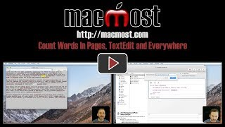 Count Words In Pages, TextEdit and Everywhere (#1577)