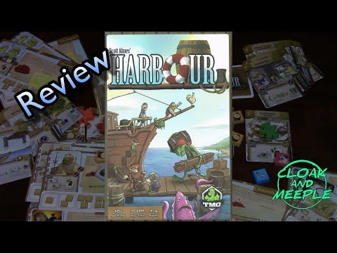 Cloak and Meeple: Review, Harbour