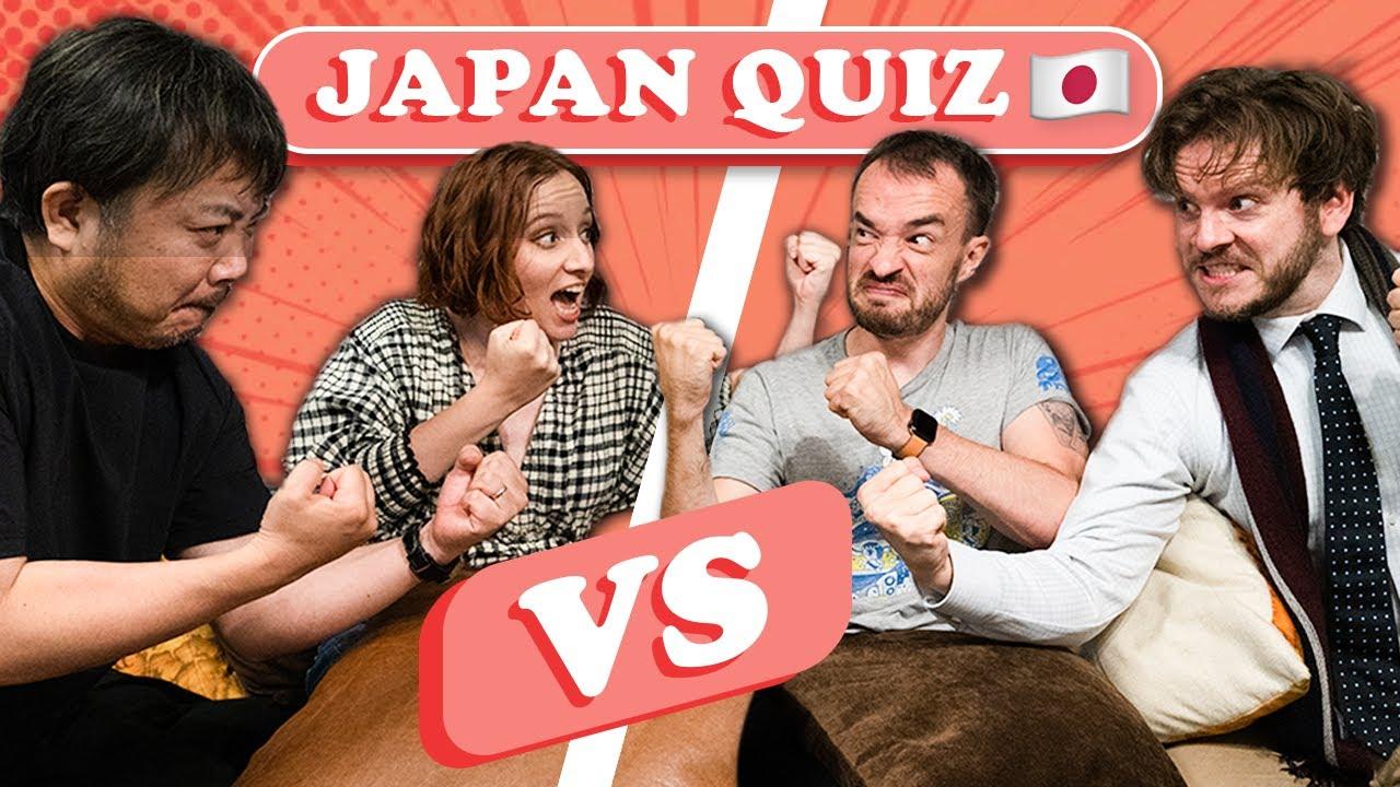 A Heated JAPAN QUIZ ft. Natsuki, Tokidoki Traveller, Ian & Pete Thumbnail