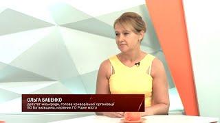 Ольга Бабенко на телеканале Рудана с депутатской инициативой против дистанционного образования на постоянной основе