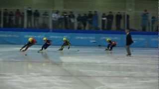 少年男子1000m決勝A-第68回国民体育大会冬季大会ショートトラック